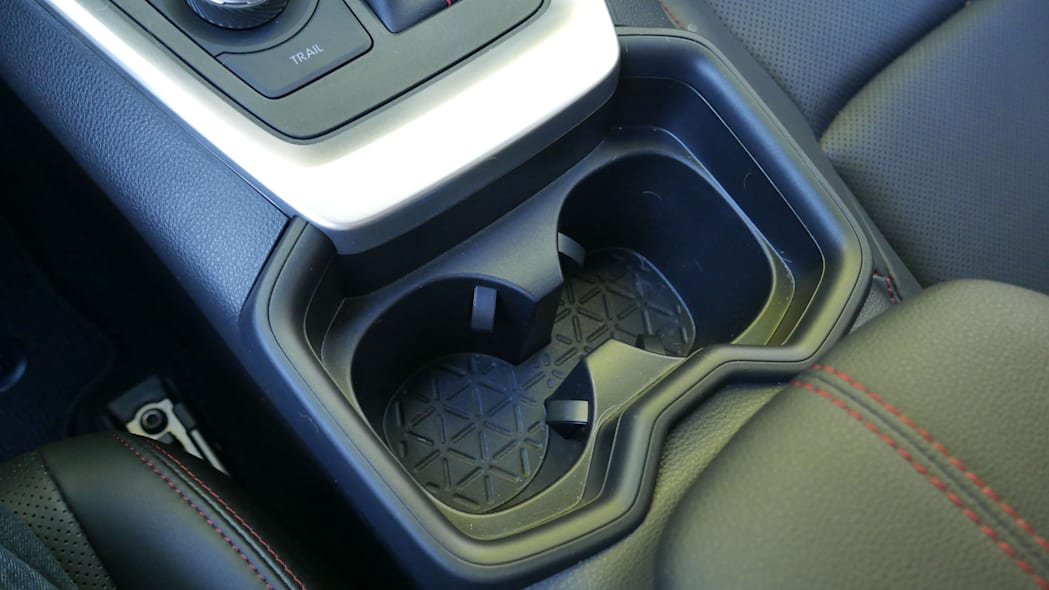 2021 Toyota RAV4 Prime cupholder