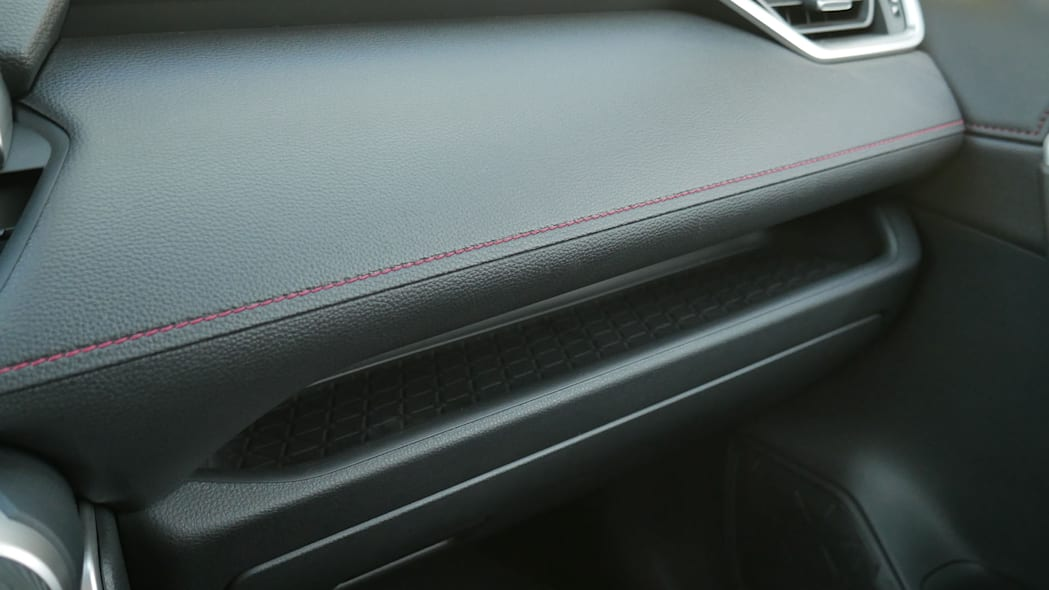 2021 Toyota RAV4 Prime dash trim and shelf