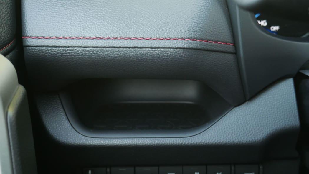 2021 Toyota RAV4 Prime driver side shelf