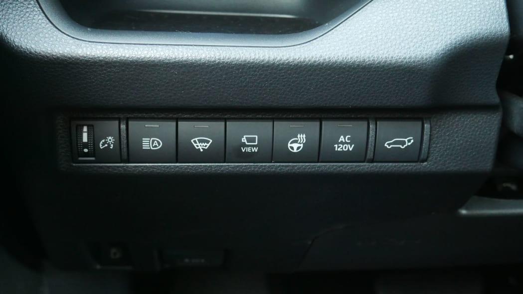 2021 Toyota RAV4 Prime extra buttons