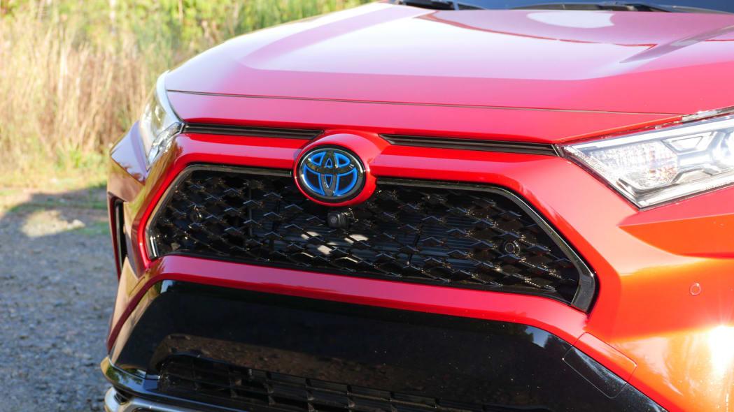 2021 Toyota RAV4 Prime grille