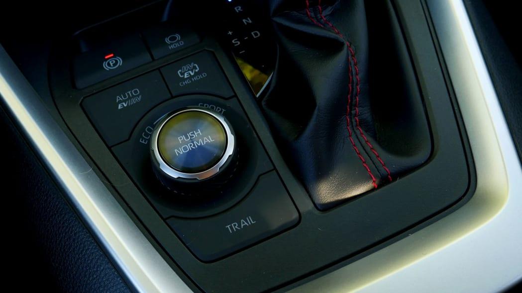 2021 Toyota RAV4 Prime Normal button