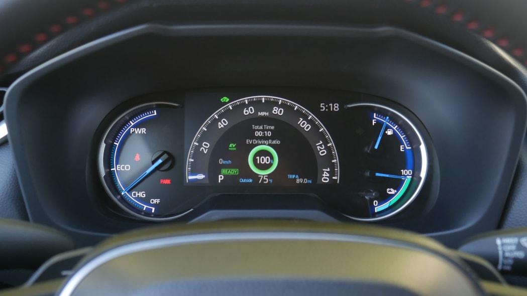 2021 Toyota RAV4 Prime Normal IP