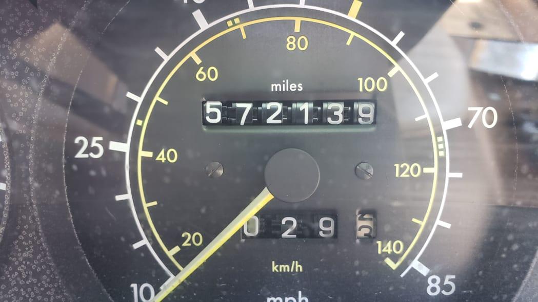07 -1981 Mercedes-Benz 300SD in California junkyard - photo by Murilee Martin