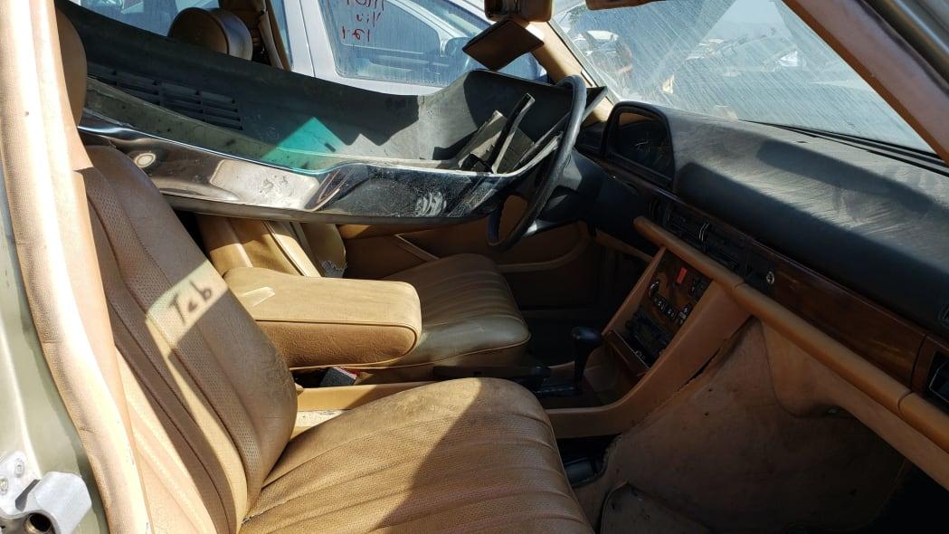 23 -1981 Mercedes-Benz 300SD in California junkyard - photo by Murilee Martin
