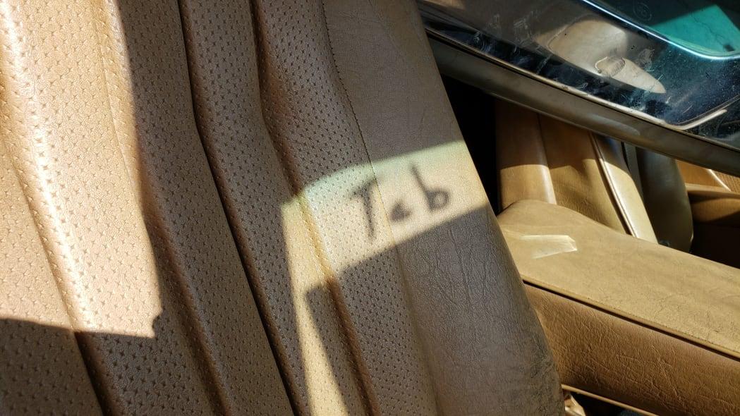 27 -1981 Mercedes-Benz 300SD in California junkyard - photo by Murilee Martin