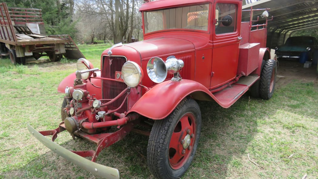 1934 Ford fire truck