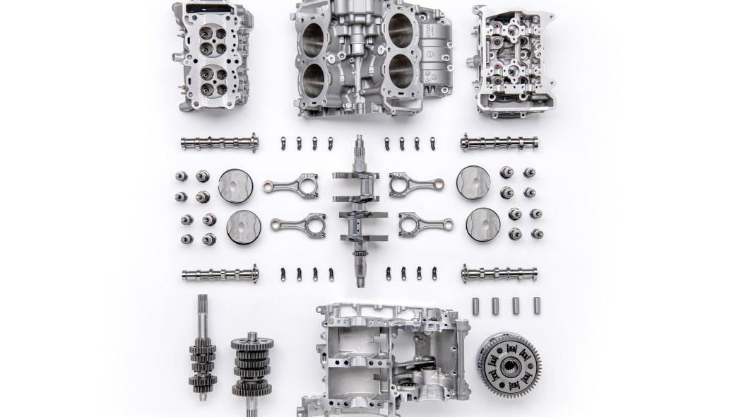 Ducati Granturismo V4 engine