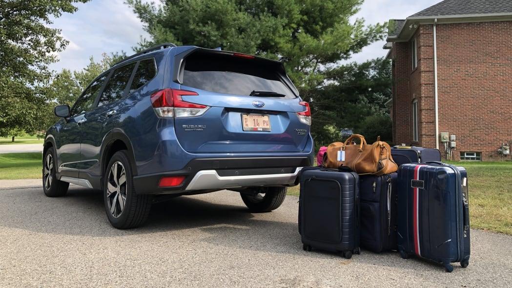 2019 Subaru Forester luggage test