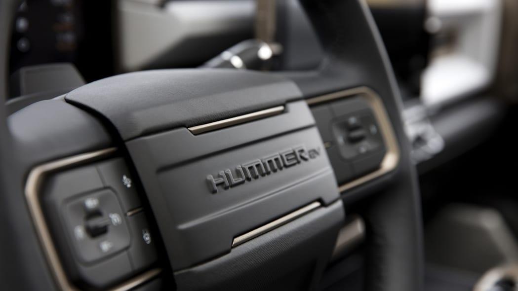 The GMC HUMMER EV's design visually communicates extreme capab