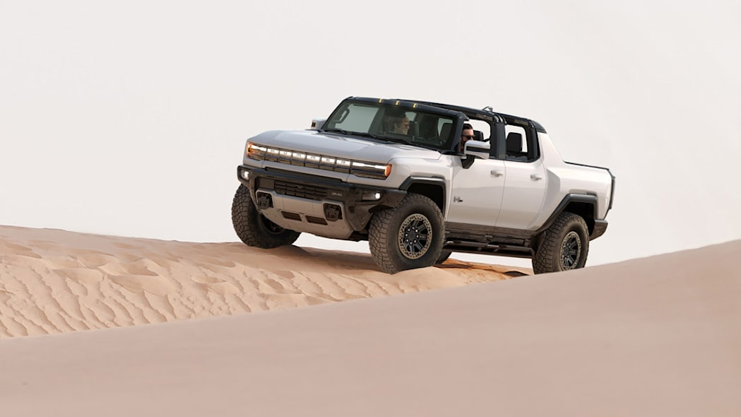 The GMC HUMMER EV is designed to be an off-road beast, with all-