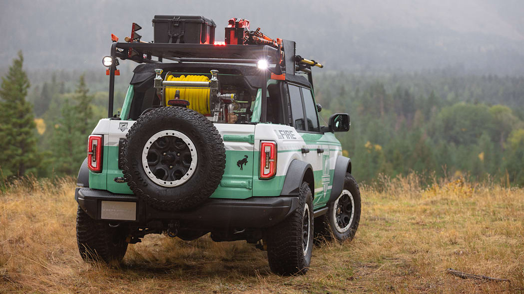 Ford Bronco Wildland Fire Rig Concept