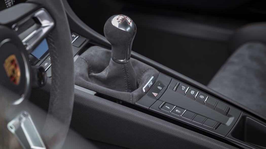 Porsche Cayman T shifter