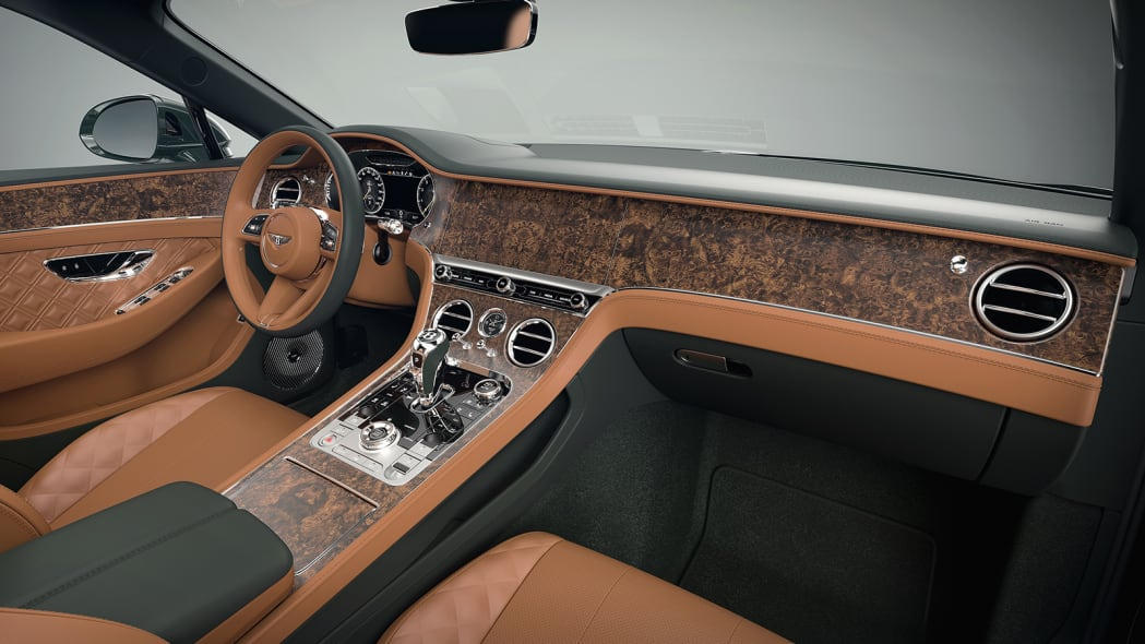 Bentley Mulliner interior trims