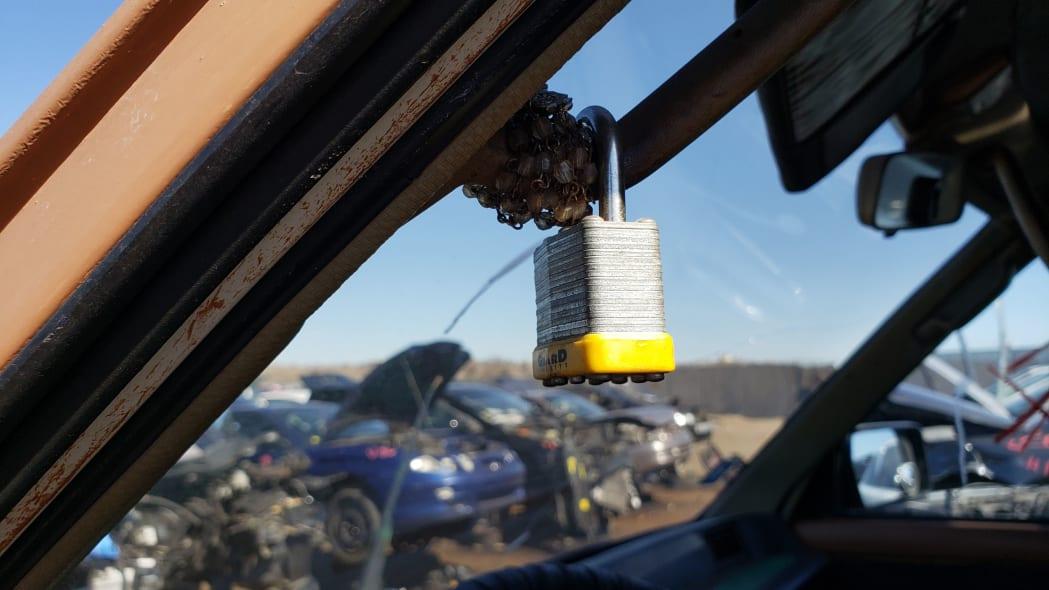 12 - 1987 Toyota LiteAce Van in Colorado junkyard - photo by Murilee Martin