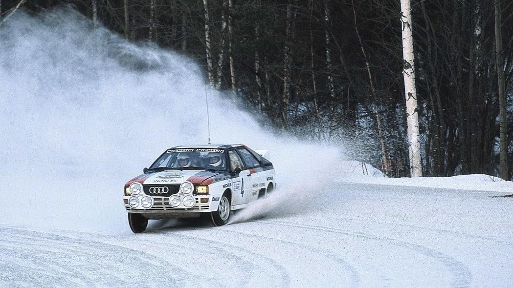 Audi Quattro in WRC