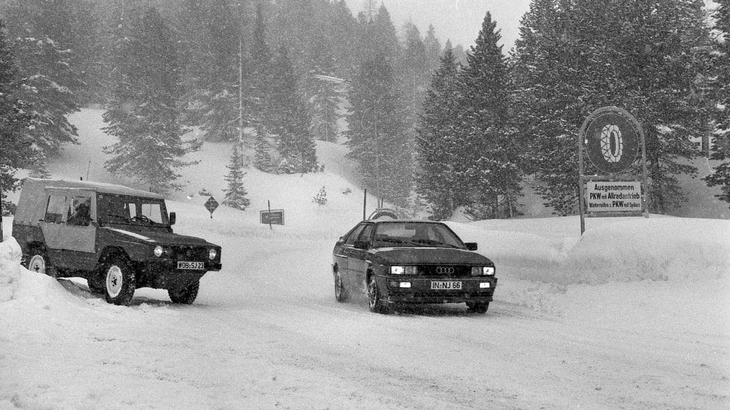 Volkswagen Iltis and Audi Quattro