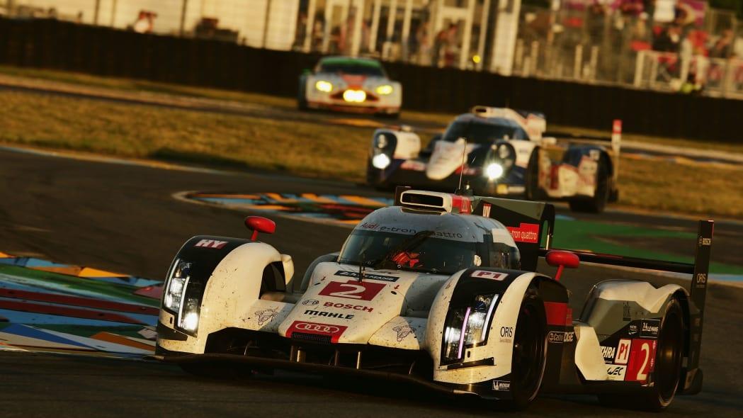 Audi R18 at Le Mans