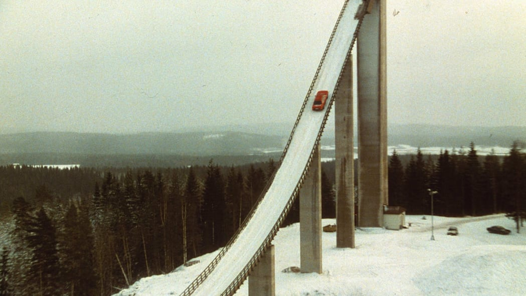 Audi ski jump ad
