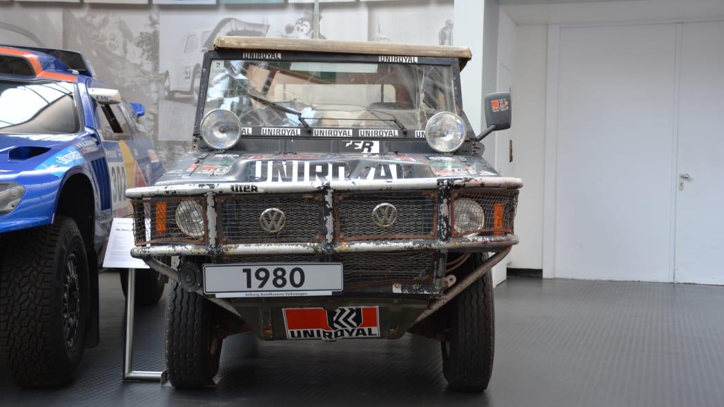 1980 Volkswagen Iltis, winner of the 1980 Paris-Dakar