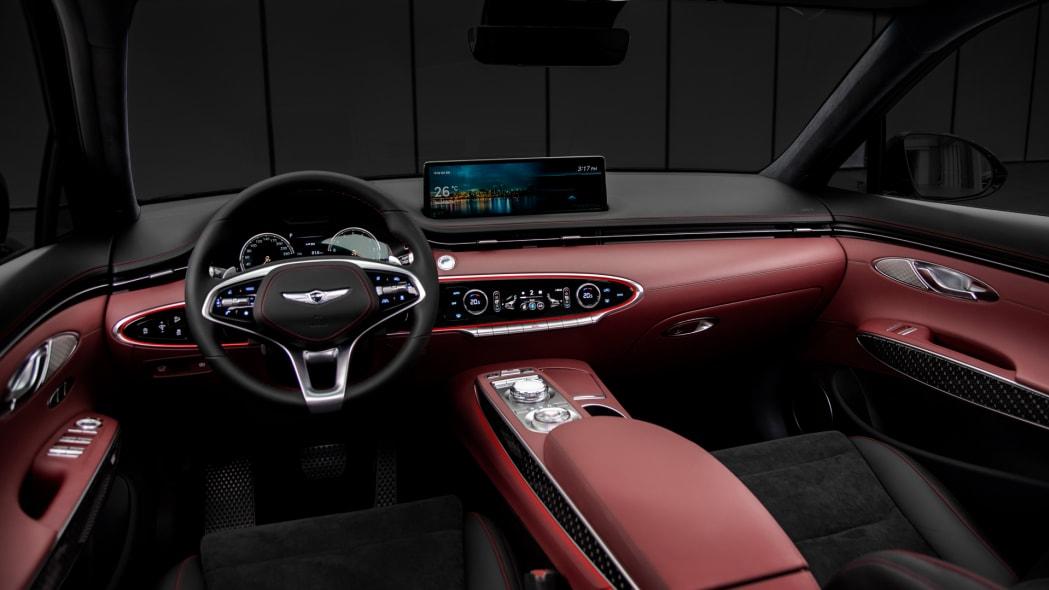 Genesis GV70 interior red