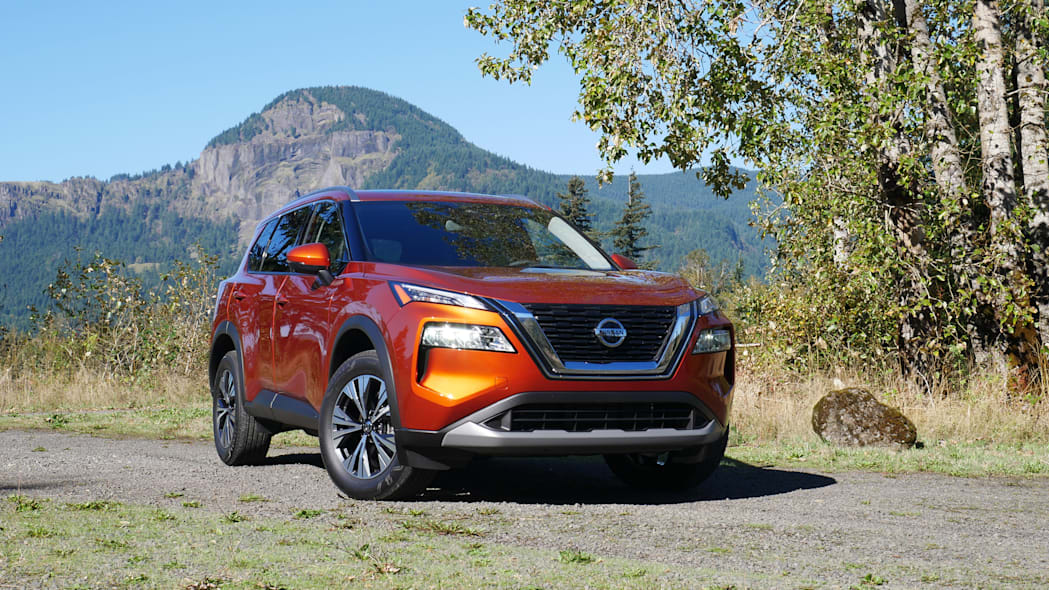 2021 Nissan Rogue SV off road