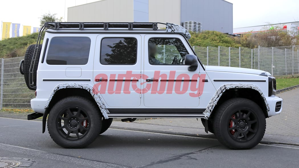 Mercedes G-Class 4x4 Squared spy photos