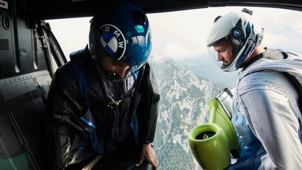 BMW electrified wingsuit