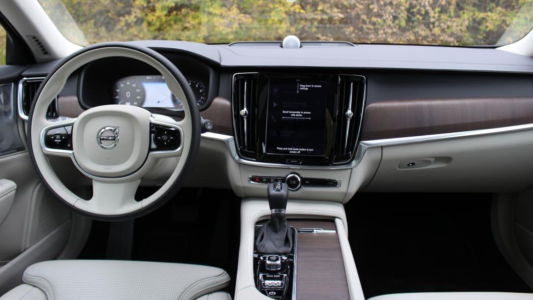 2021 Volvo V90 T6 Inscription interior