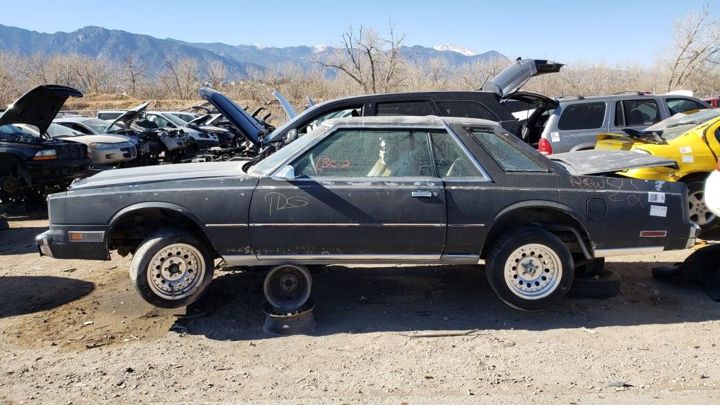 99 - 1983 Chrysler Cordoba in Colorado Junkyard - photo by Murilee Martin