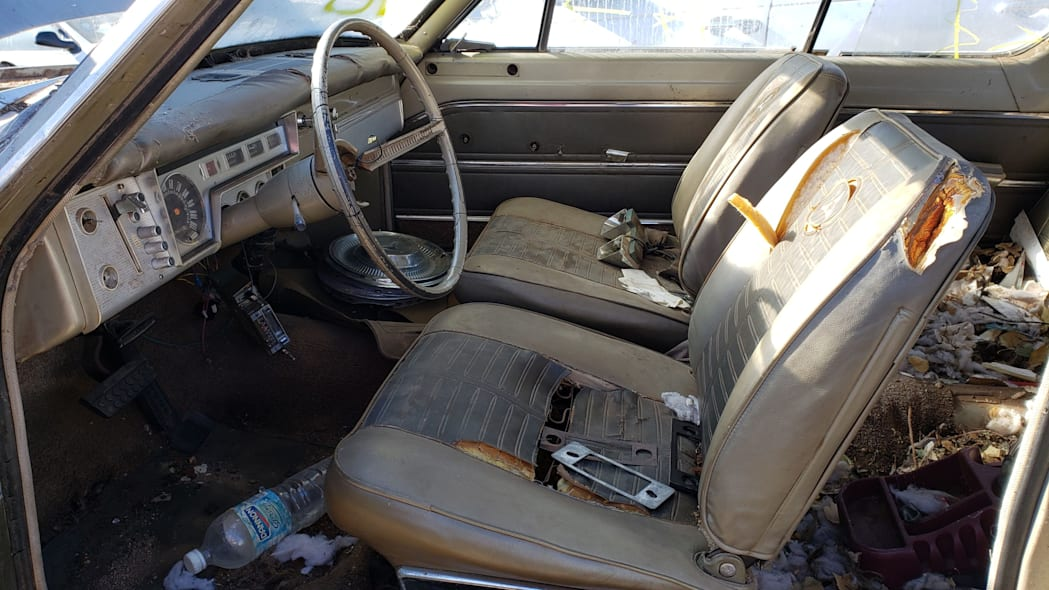 02 - 1964 Dodge Dart in Colorado Junkyard - photo by Murilee Martin