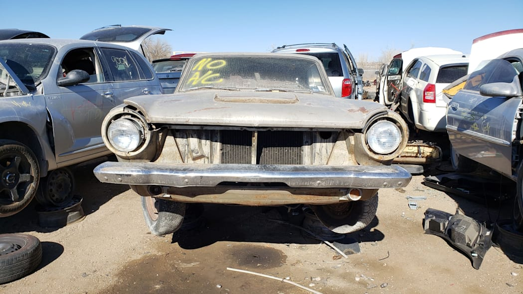 49 - 1964 Dodge Dart in Colorado Junkyard - photo by Murilee Martin