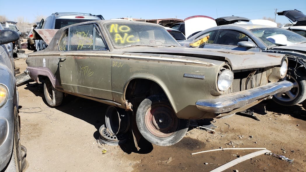 99 - 1964 Dodge Dart in Colorado Junkyard - photo by Murilee Martin