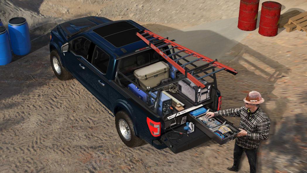 Ford F-150 Limited Hybrid SuperCrew SEMA