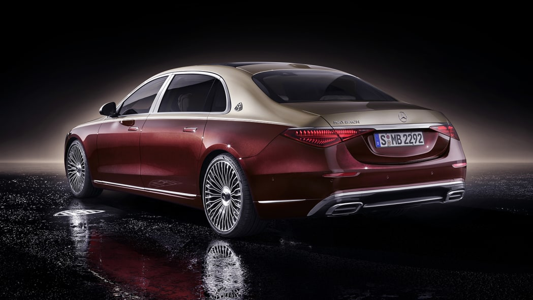 2021 Mercedes-Maybach S 580