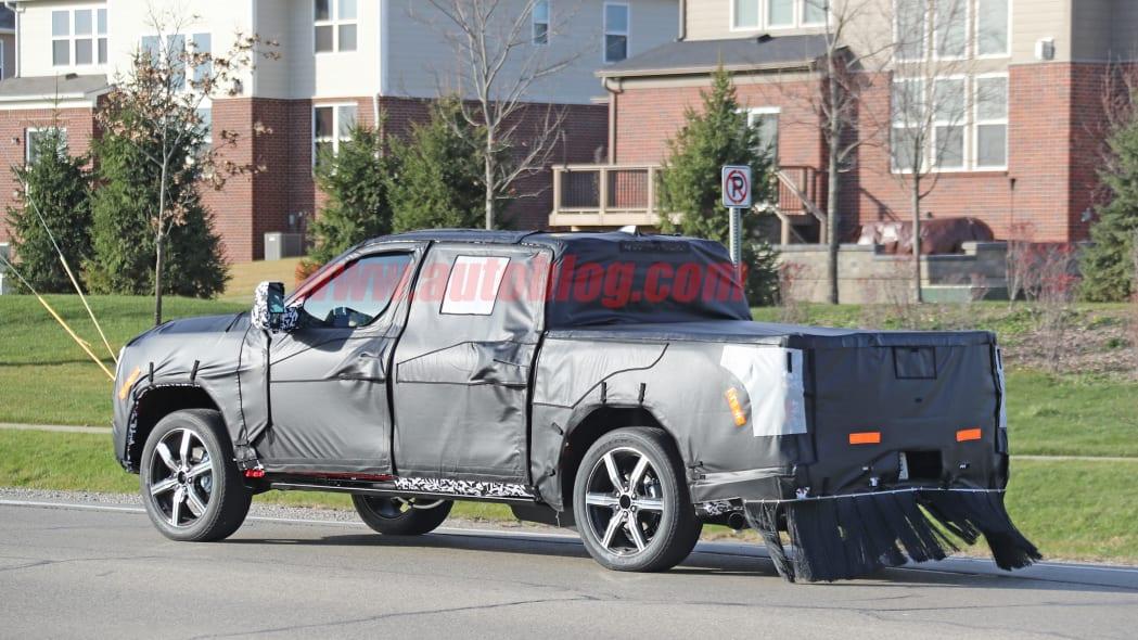 2022 Toyota Tundra spied