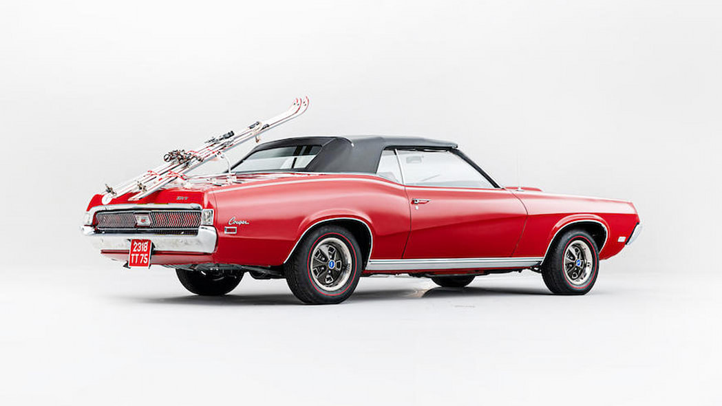 1969 Mercury Cougar XR7 from 'On Her Majesty's Secret Service'