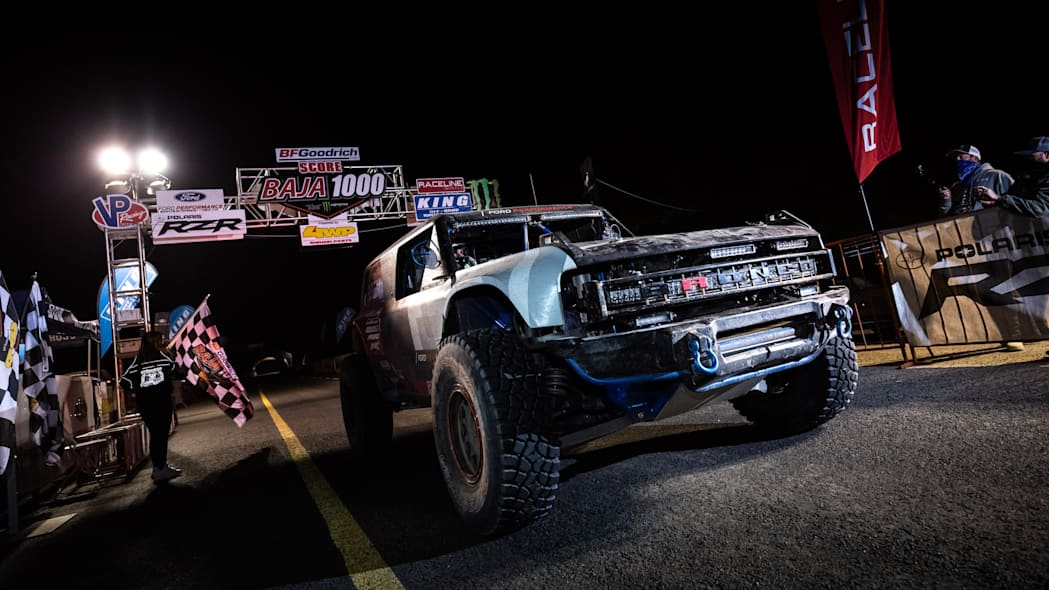 Bronco R Prototype Finishes 2020 Baja 1000Image Credit: Ford