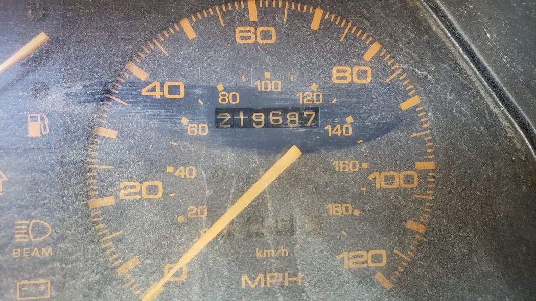 08 - 1985 Mazda 626 in Colorado Junkyard - photo by Murilee Martin