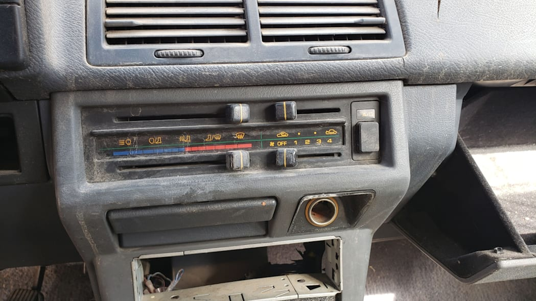 17 - 1985 Mazda 626 in Colorado Junkyard - photo by Murilee Martin