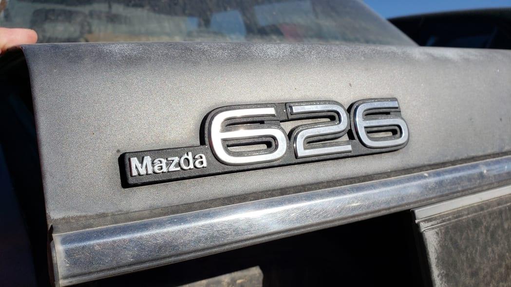 27 - 1985 Mazda 626 in Colorado Junkyard - photo by Murilee Martin