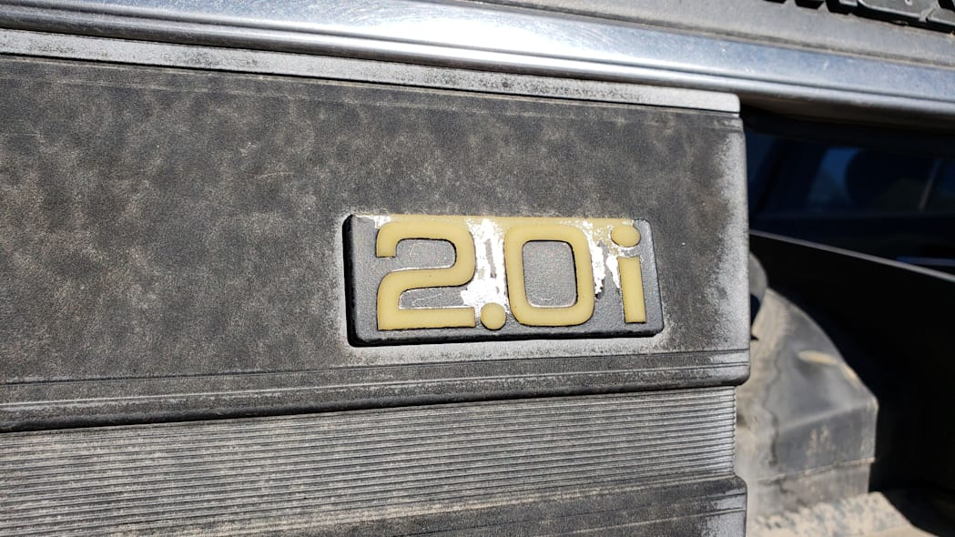 30 - 1985 Mazda 626 in Colorado Junkyard - photo by Murilee Martin