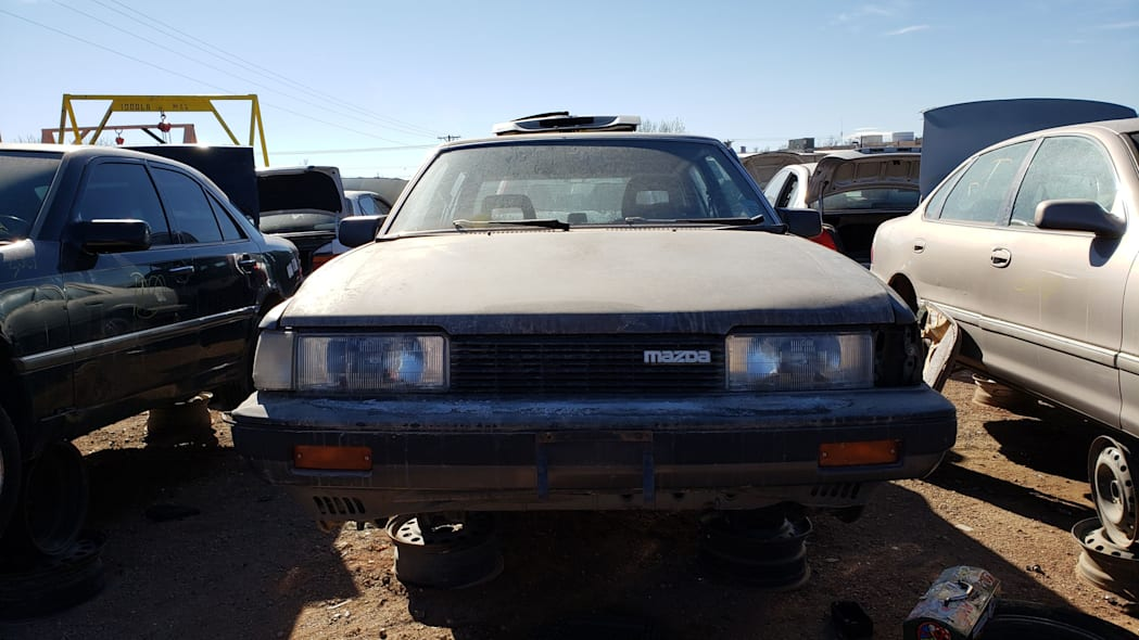 37 - 1985 Mazda 626 in Colorado Junkyard - photo by Murilee Martin