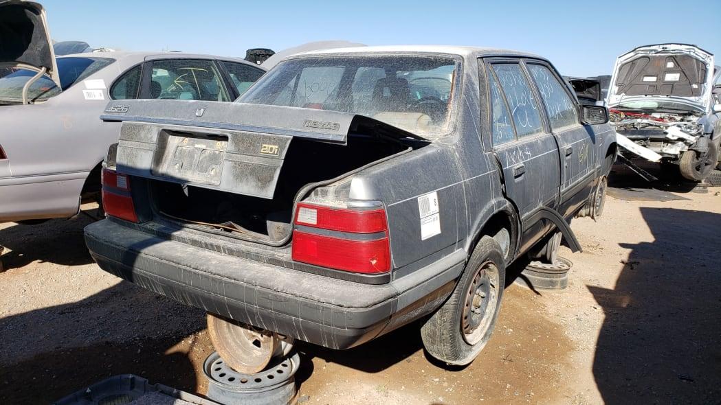47 - 1985 Mazda 626 in Colorado Junkyard - photo by Murilee Martin