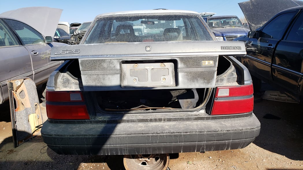 49 - 1985 Mazda 626 in Colorado Junkyard - photo by Murilee Martin