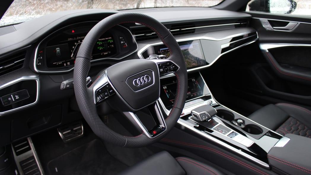 2021 Audi RS 6 Avant interior Photo Gallery   Autoblog
