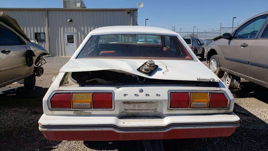 44 - 1978 Ford Mustang II in Colorado Junkyard - photo by Murilee Martin