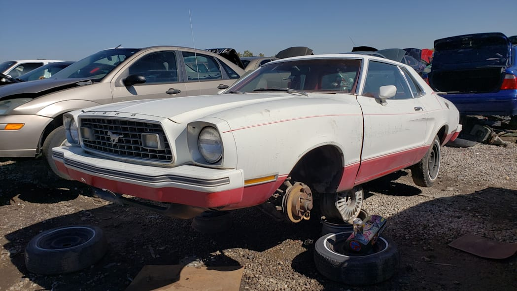 99 - 1978 Ford Mustang II in Colorado Junkyard - photo by Murilee Martin