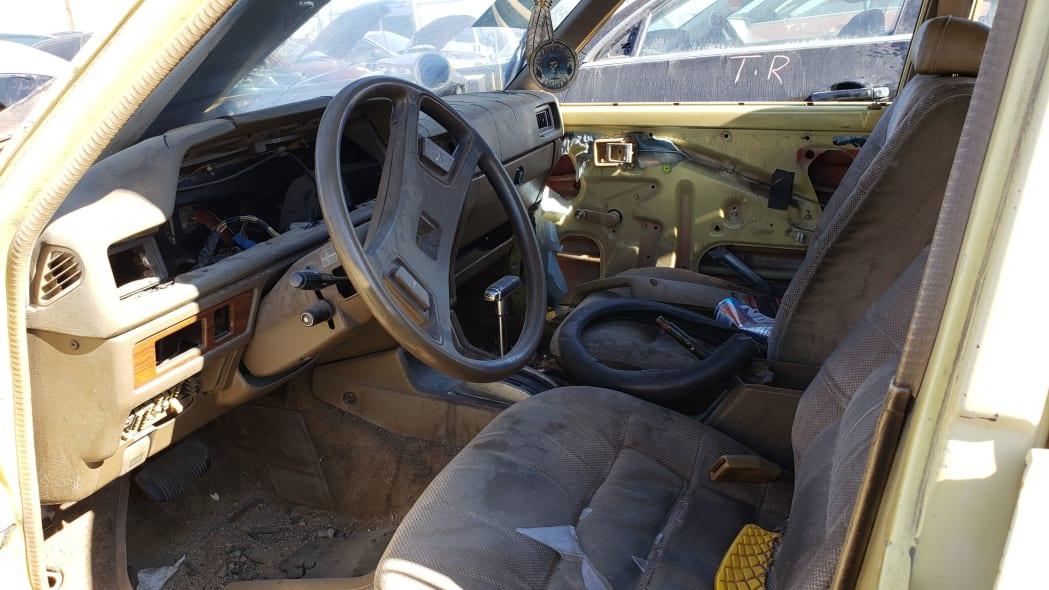 21 - 1979 Toyota Corona Station Wagon in Colorado Junkyard - photo by Murilee Martin
