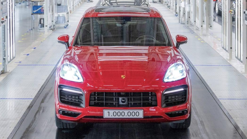 One millionth Porsche Cayenne